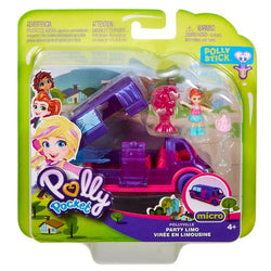Polly Pocket Pollyville Party Limo (6)