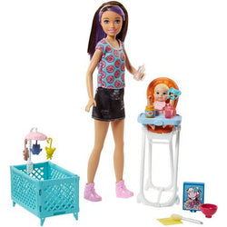 Barbie Skipper Babysitters Inc. Doll and Playset (4)