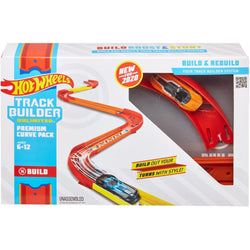 Hot Wheels Track Builder Unlimited Curve Kicker Pack (4)