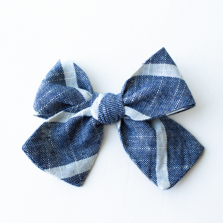 Stanley Stripe Hair Bow for Girls