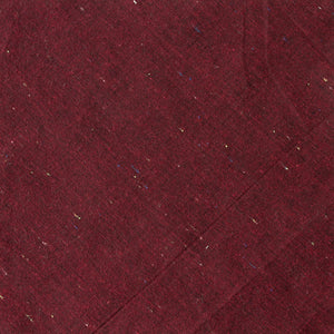 Black Cherry Linen Boys Tie