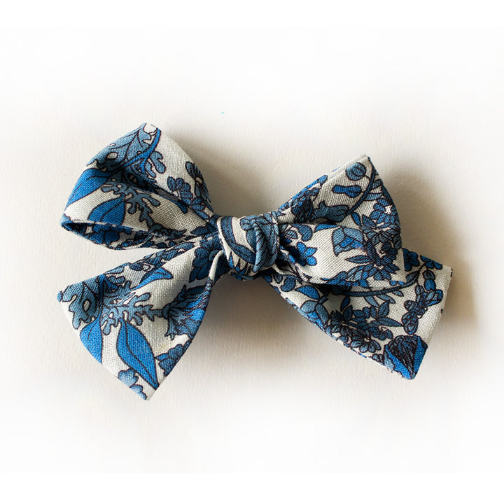 Encinitas Floral Hair Bow for Girls