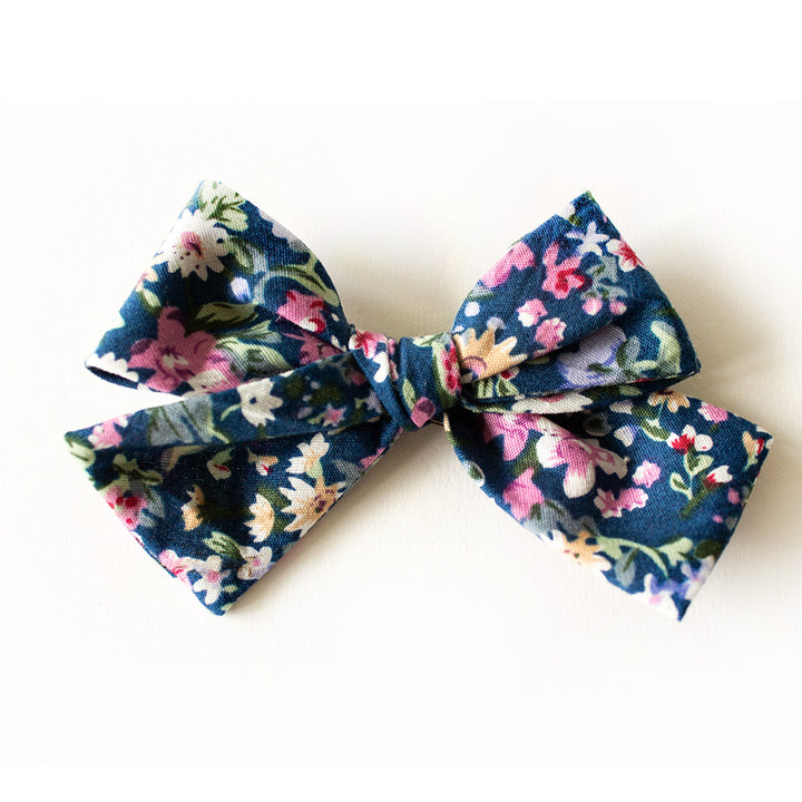 Newport Floral Hair Bow for Girls