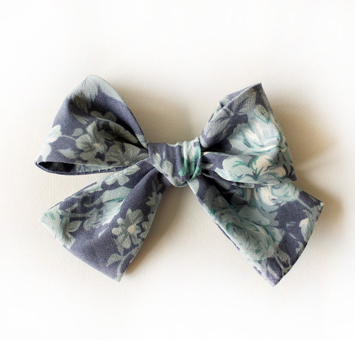 Isle Of Palms Floral Hair Bow for Girls