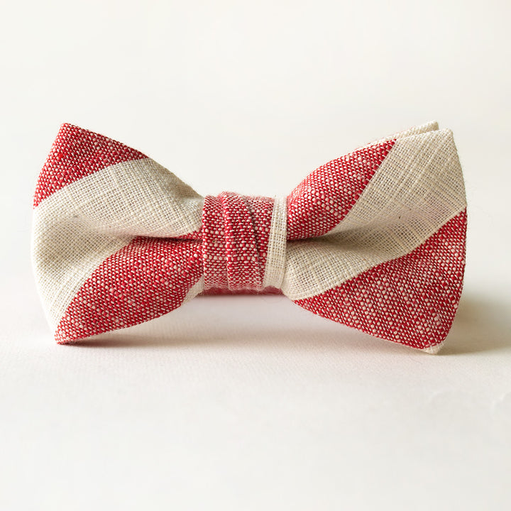 Hamilton Stripe Bow Tie for Boys