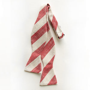 Hamilton Stripe Bow Tie for Men