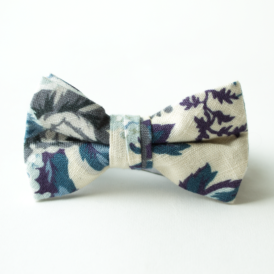 Bellevue Floral Bow Tie for Boys