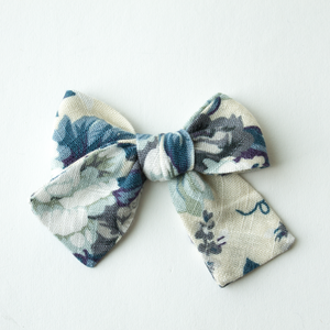 Bellevue Floral Hair Bow for Girls