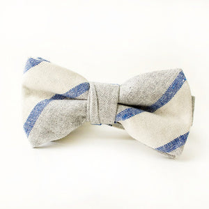Benson Stripe Bow Tie for Boys