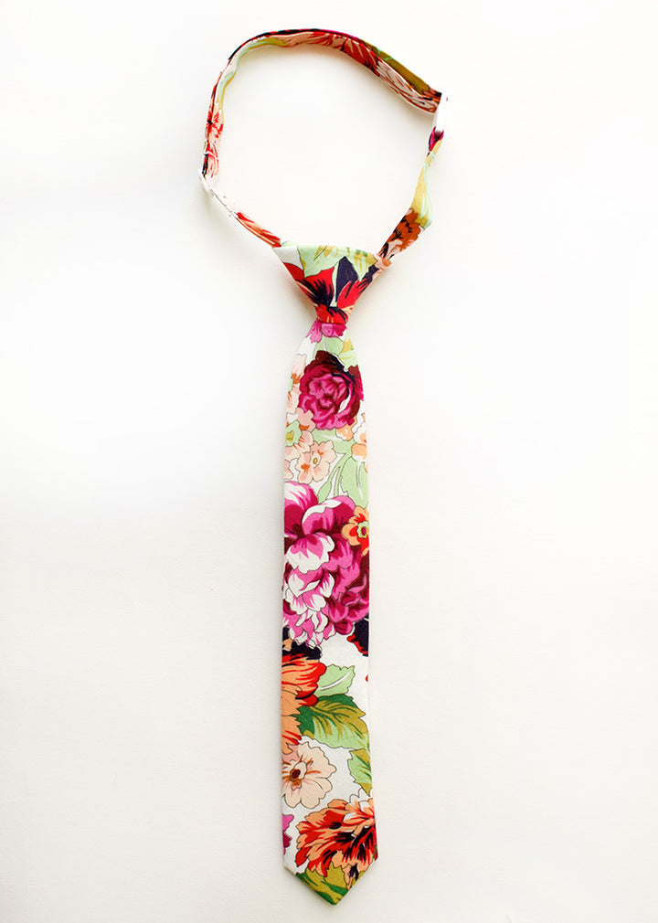 Last Chance Clearance - Botanical Gardens Floral Boys Tie
