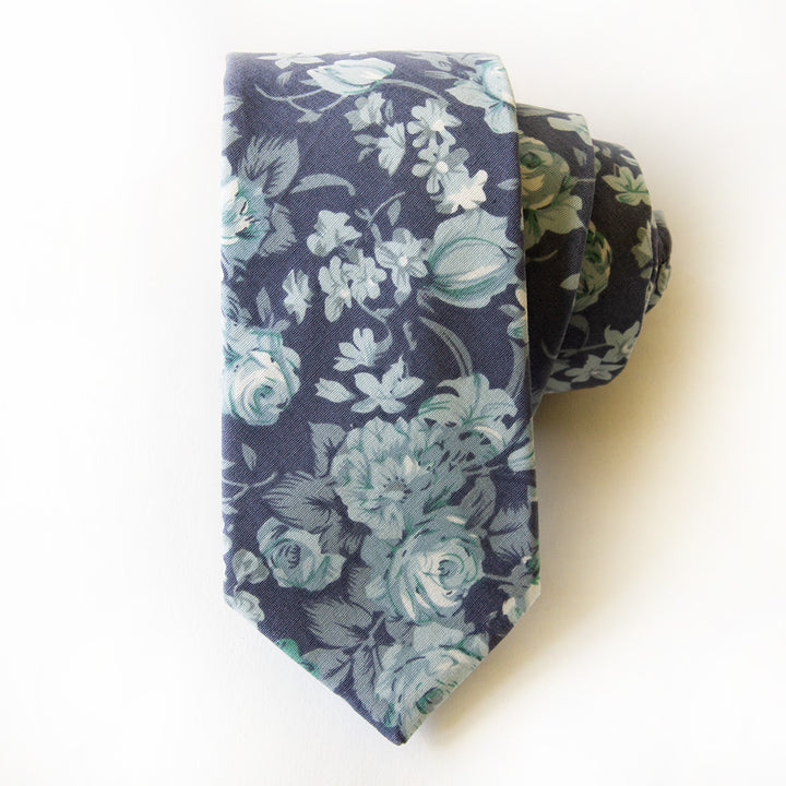 Isle Of Palms Floral Tie