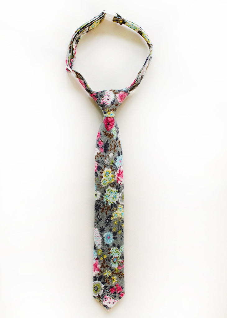 Dana Point Floral Boys Tie