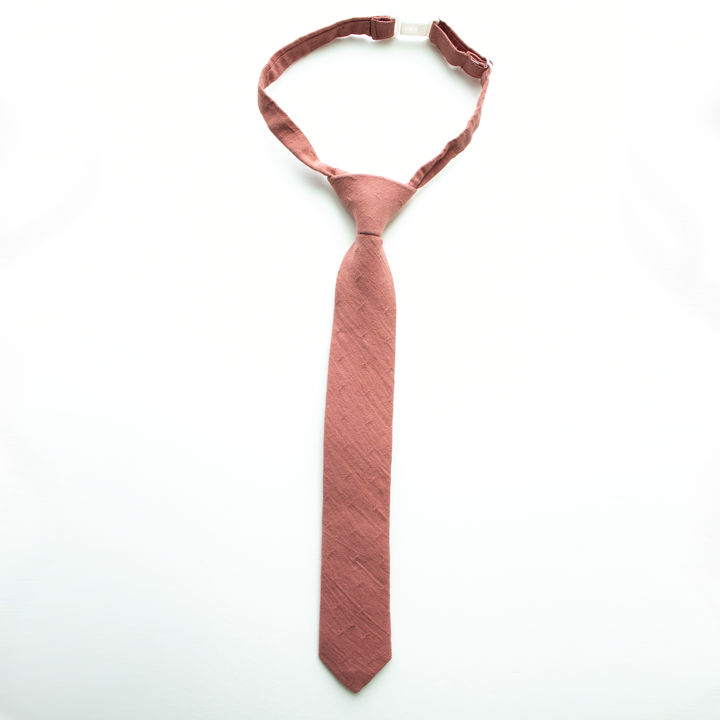 Dusty Mauve Boys Tie