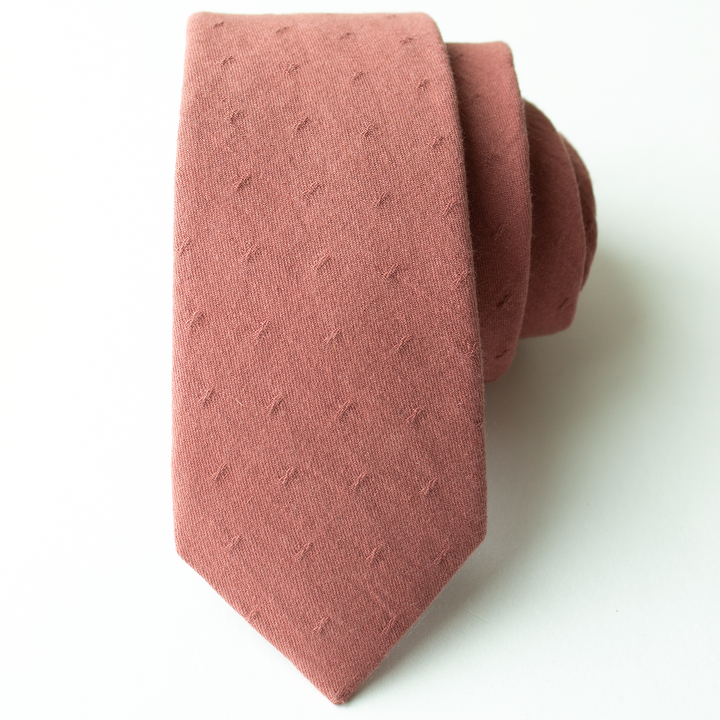 Dusty Mauve Men's Tie