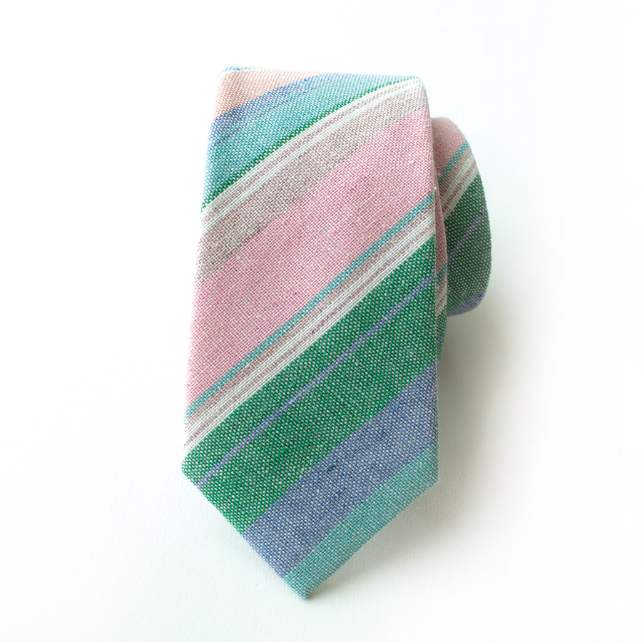 Easter Basket Stripe Men's Tie