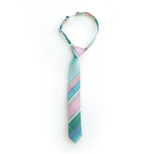 Last Chance Clearance-Easter Basket Stripe Boys Tie