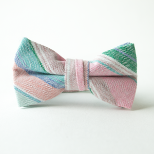 Easter Basket Stripe Bow Tie for Boys