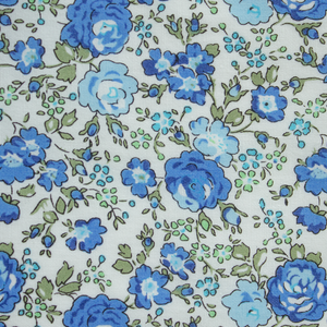 Fields of Blue Floral Tie