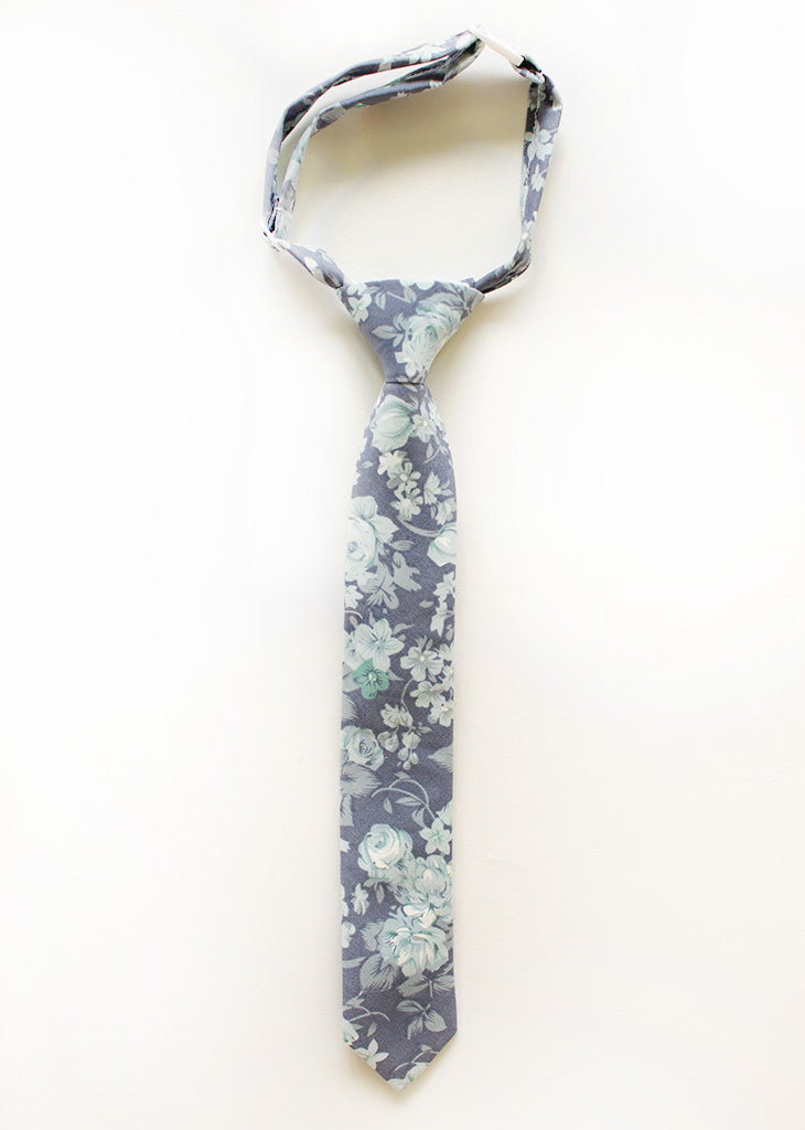Isle Of Palms Floral Boys Tie