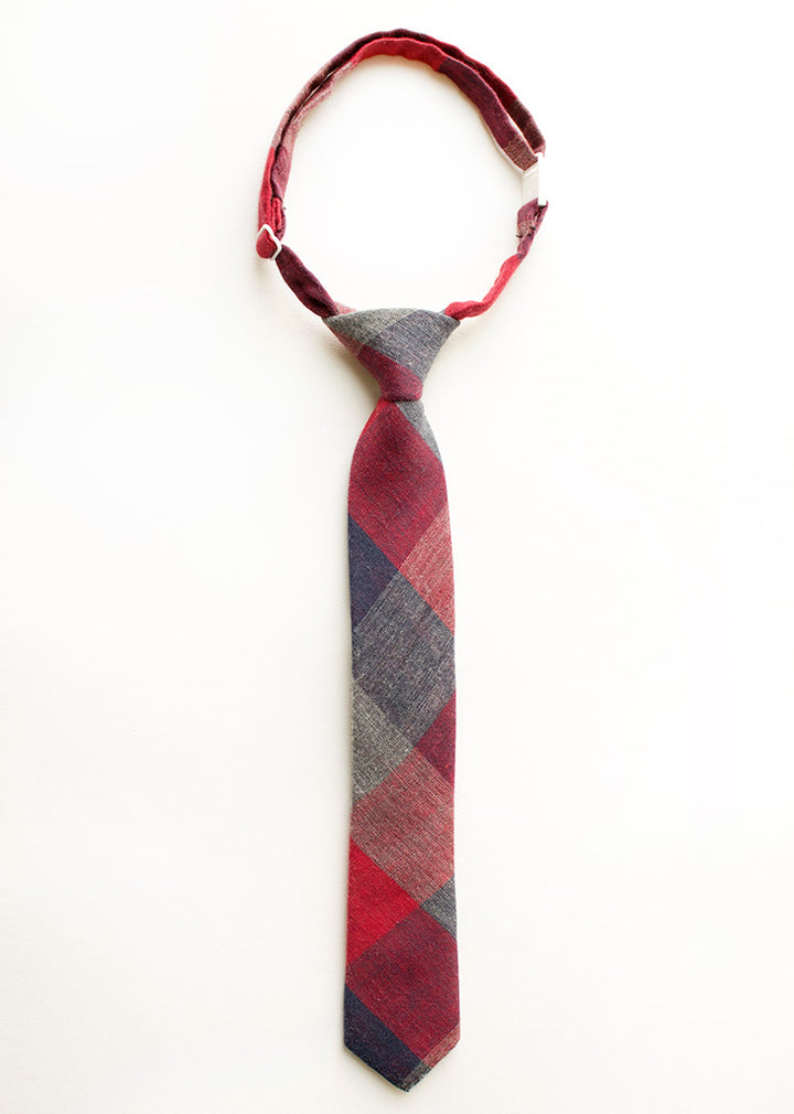 Lenox Plaid Boys Tie