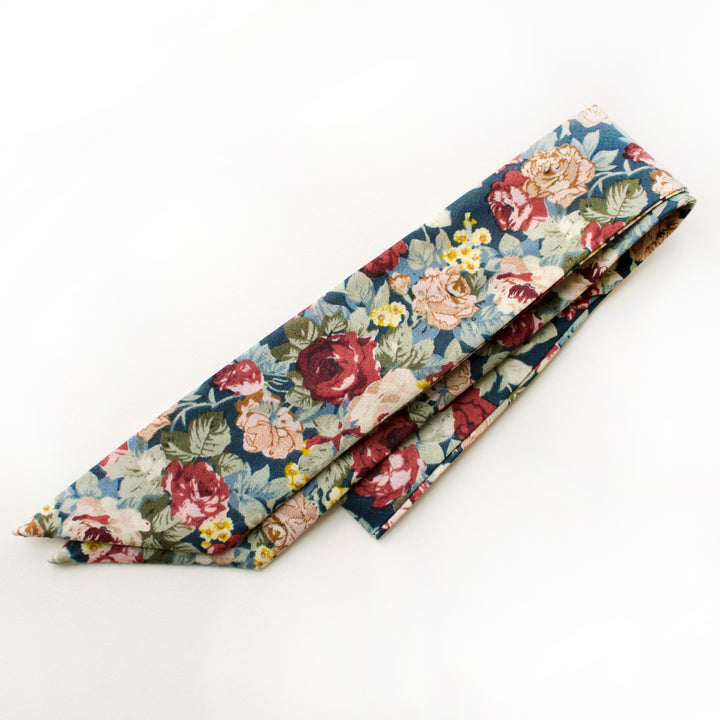 Mulberry Everything Bow for Girls & Women - Neck scarf & Hair wrap