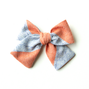 Winston Stripe Hair Bow for Girls