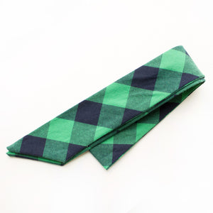 Princeton Plaid  Everything Bow for Girls & Women - Neck scarf & Hair wrap