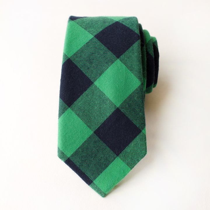 Last Chance Clearance-Princeton Plaid Tie