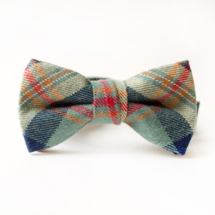 Remington Plaid Bow Tie for Boys