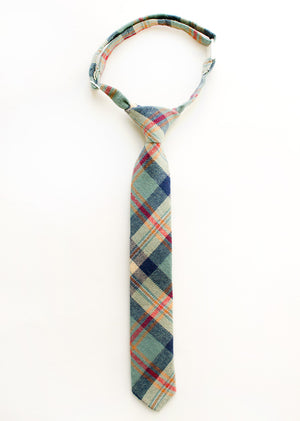 Remington Plaid Boys Tie