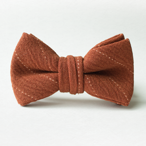 Rusty Stripe Bow Tie for Boys