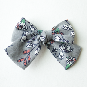 Santa Rosa Floral Hair Bow for Girls