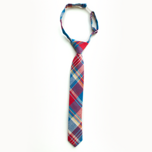 Scout Plaid Boys Tie