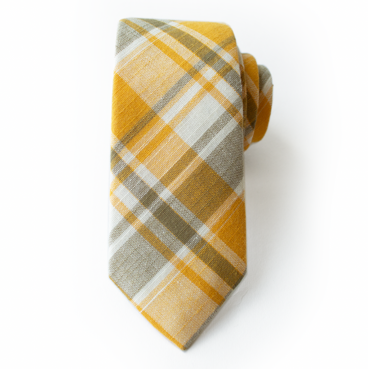 Mayflower Plaid Mens Tie