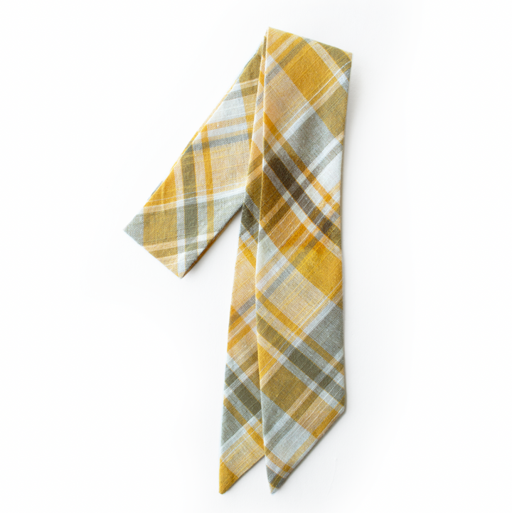 Mayflower Plaid Everything Bow for Girls & Women - Neck scarf & Hair wrap