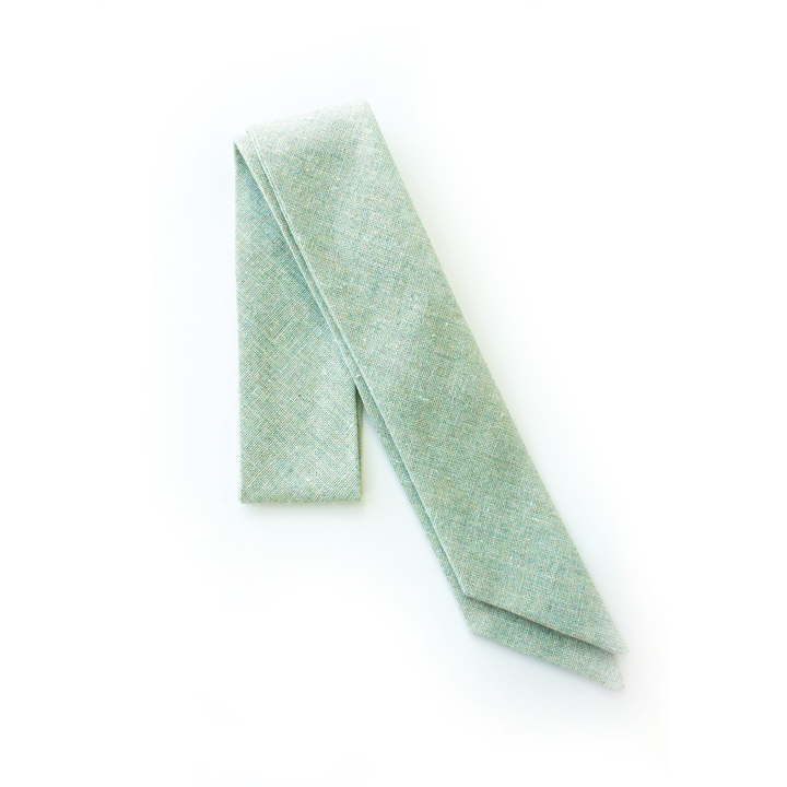 $10 Tuesday Deal - Sea Foam Linen Everything Bow for Girls & Women - Neck scarf & Hair wrap