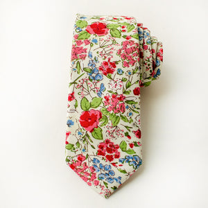 Last Chance Clearance - Spring Floral Tie