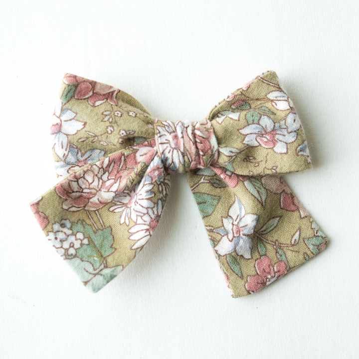 Sundance Floral Hair Bow for Girls