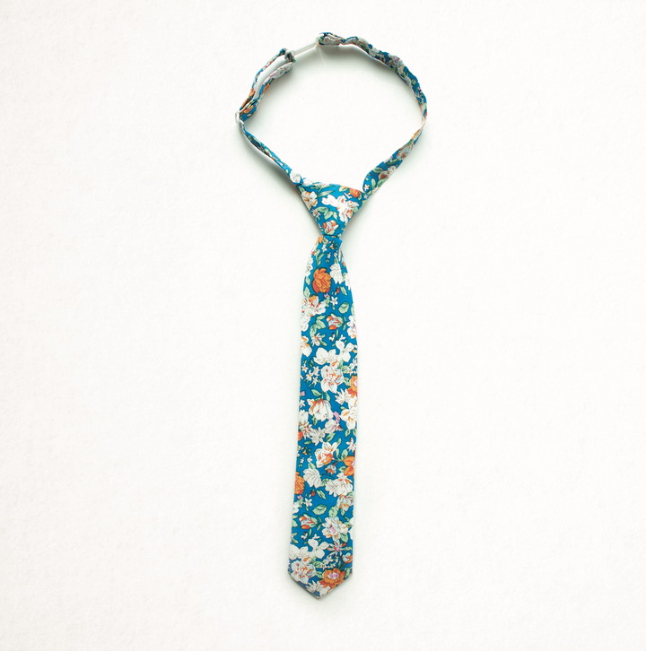 Windsurfer Beach Floral Boys Tie