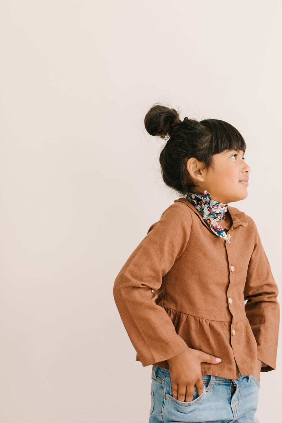 Lucky Penny Everything Bow for Girls & Women - Neck scarf & Hair wrap