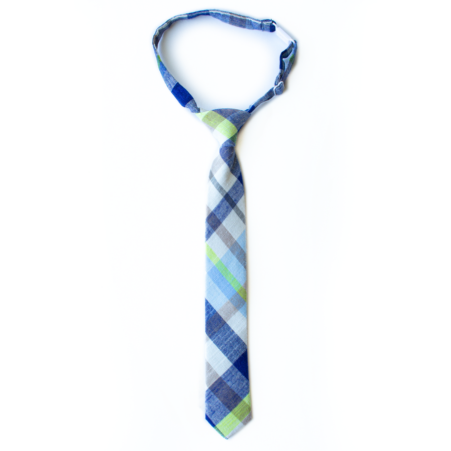 Elliot Plaid Boys Tie