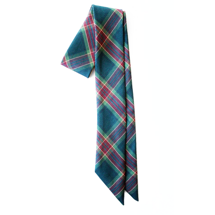 Evergreen Plaid Everything Bow for Girls & Women - Neck scarf & Hair wrap