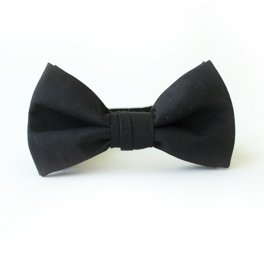 Men in Black Bow Tie for Boys