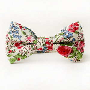 Spring Floral Bow Tie for Boys