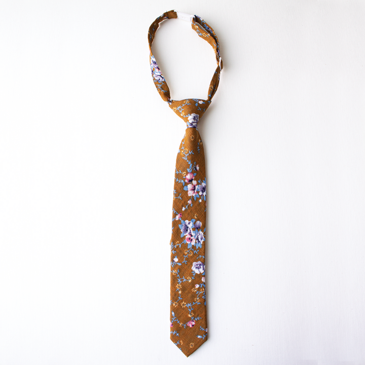 Potters Clay Floral Boys Tie