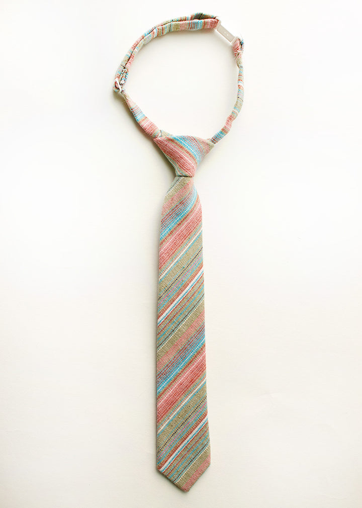 Rainbow Trout Stripe Boys Tie