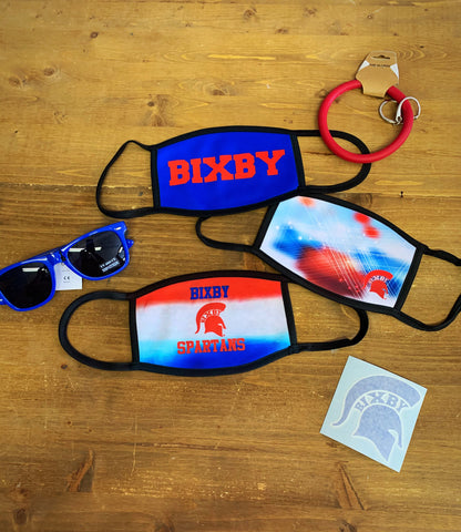 Bixby Spartan Face Coverings