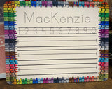Personalized Dry Erase Writing Board