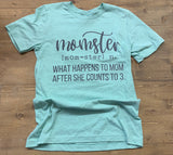 MOMSTER GRAPHIC TEE