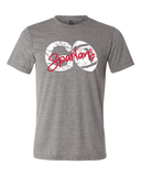 GO Spartans Football Tee